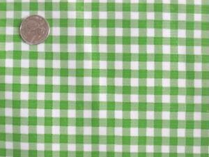 LIME GREEN KIWI GINGHAM CHECK KITCHEN PATIO DINE OILCLOTH VINYL TABLECLOTH 48x96