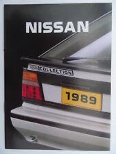 Nissan 1989 UK brochure - Sunny ZX Coupe, 200SX, 300ZX, Micra, Maxima, Prairie..