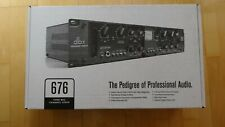 Dbx 676 Tube Microphone Preamplifier Professional Audio