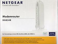 Netgear ADSL2+ Modem Router DG834B v4 mit allen Original Teilen und OVP
