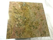 Granite Cutting Board counter board 12x12 leather tooling red montana swirl