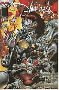 °TALES OF THE DARKNESS #1 von 4° USA Image/ Top Cow Crossover 1998 Cover B