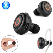 Wireless Mini Stereo Bluetooth Headset Kopfhörer Ohrbügel für iPhone Samsung LG