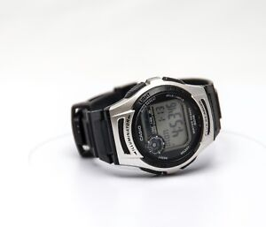 Ladies Casio W-213 Stainless Steel Water Resistance 3237 With Battery. Working!