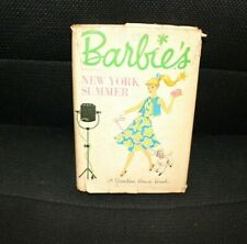 VINTAGE ORIGINAL 1962 BARBIE NEW YORK SUMMER STORY BOOK by Cynthia Lawrence