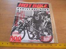 Hot Bike 90 Japan for those who ride Harley-Davidson motorcycles magazine 1990s