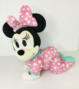 """Disney Baby Minnie Mouse Musical Touch N Crawl Crawling Talking Toy ''SEE VIDEO"""""""