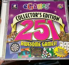 251 Awesome Games! Collector's Edition PC GAME - FREE POST