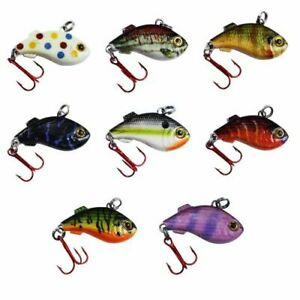 Kenders K-Rip Mini Vibe Bait Jig Hard Plastic Ice Fishing Lure