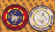USN Navy USMC Marine Corps Fighter Weapons School TOP GUN 4 inch flight patch