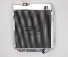 POLISHED 3Row Aluminum Radiator For 1964-1966 1965 FORD MUSTANG V8 260 289 AT/MT