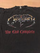 Obituary OG The End Complete 1992 Tour shirt vintage concert morbid angel slayer