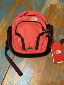 north face sprout backpack pink marron