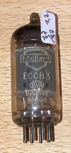 ECC83 Mullard BVA - ( 12AX7 ) - double getter fixing - NOS (R241)