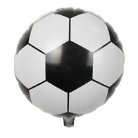 5Pcs Round Foil Football Soccer Balloon Bar Birthday Supply Party Mall Decor Toy