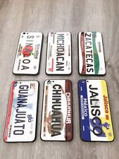 HD Quality Mexico City License Plate phone case iPhone 6,7,8, Samsung S10,Note10