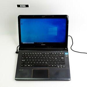 SONY VAIO SVE14A37CDH 14'' INTEL i7-3632QM  8GB RAM 500GB HDD WIN 10 PRO H743