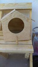 Pine  Wood Bird House