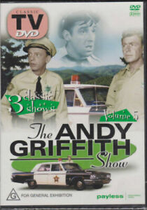 THE ANDY GRIFFITH SHOW VOLUME 5 (3 EPISODES) - DVD Series New Region 4