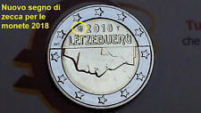 nuovi segni di zecca 2 euro 2018 Lussemburgo Luxembourg Luxemburg Luxemburgo