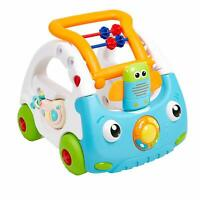 Baby Sit to Stand Learning Walker Push Car Activity Walker with Music and Light