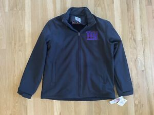 AUTHENTIC NEW YORK GIANTS ZIP UP SOFT SHELL JACKET MEN'S LARGE NEW WITH TAGS
