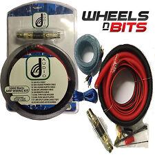 J-audio completo amplificador calibre 0 Kit De Cables 5000 vatios Max Sub o altavoces