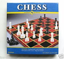 CHESS - BEGINNERS SET - CLASSIC GAMES BOARD GAME FROM PRESSMAN GAMES - NEW!