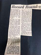 P1-2 Ephemera 1975 Article Lp Review John Entwhistle The Who Mad Dog Ox