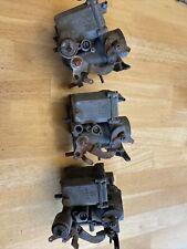 3 German Solex 34 Pict 3 Carbs VW Carburetors. Made In W. Germany Barn Fresh!