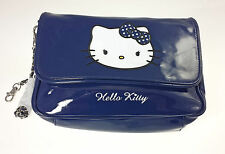 Tracollina in Vernice HELLO KITTY BLUE FACE C/Cinghia Staccabile