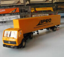 WIKING 547 SEMI-TRAILER CAMION MERCEDES BENZ TRUCK IPEC SCALE 1:87 HO NEUF OVP