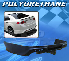 FOR ACURA TSX 09-14 T-JDM STYLE REAR BUMPER LIP BODY KIT POLYURETHANE PU