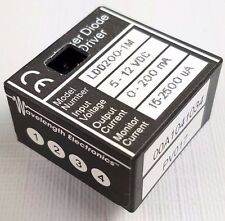 Lot of 3 Wavelength Electronics Laser Diode Driver LDD200-1M 5-12VDC 0-200mA