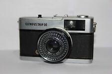 Olympus Trip 35 Compact 35mm Film Camera Working Correctly Free Warranty