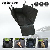 Waterproof Dog Car Seat Cover Rear Back Pet Cat Protector Travel Hammock Mat Bed