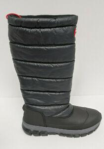 Hunter Original Insulated Snow Boots, Black, Women's 8 M