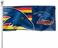 Adelaide Crows AFL Pole Flag 1800mm by 900mm Cape