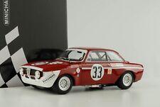 Alfa Romeo GTA 1300 Giulia Jarama 1972 #33 Hezemans Lennep DIV 1 1:18 Minichamps
