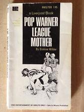 Erskine Wilder POP WARNER LEAGUE MOTHER 1972 Liverpool Sleaze Great Cover Art!!!