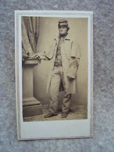 Civil War - 1860's Brady CDV - Exceptional - 1st SGT. with Upside Down Chevrons