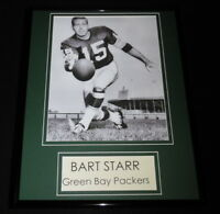 Bart Starr Framed 11x14 Photo Display Green Bay Packers