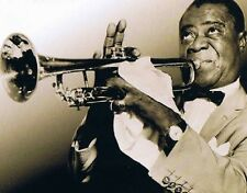 "Louis Armstrong ""The man with the Trumpet"" 4cd-Buchbox 97 TRACKS NUOVO & OVP"