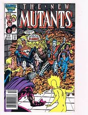 The New Mutants #46 VF Marvel Comic Book DE6