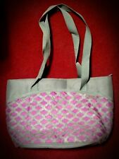 Thermos Insulated Lunch Bag Raya Brooke Lunch Containers Pink and Gray