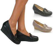 Women's Platforms & Wedge Leather Party Heels