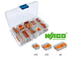 WAGO 221 LEVER-NUTS 25-Pack with Case (10x) 221-412, (10x) 221-413, (5x) 221-415
