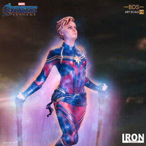 Iron Studios 1/10 model MARCAS24619-10 Captain Marvel Avengers: Endgame Statue