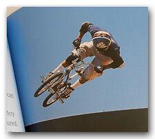 BMX RACING AND FREESTYLE YOUTH BOOK MATT HOFFMAN DAVID MIRRA GREG HILL & MORE
