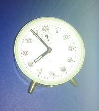Peter Wecker grün leuchtende Ziffern Uhr mechanisch alt